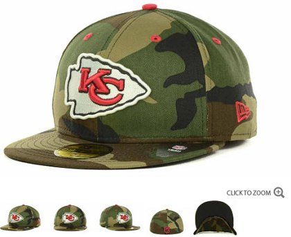 Kansas City Chiefs 2013 NFL Fitted Hat 60D156