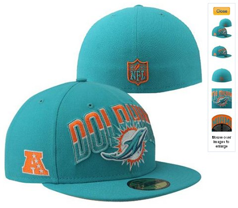 2013 Miami Dolphins NFL Draft 59FIFTY Fitted Hat 60D23