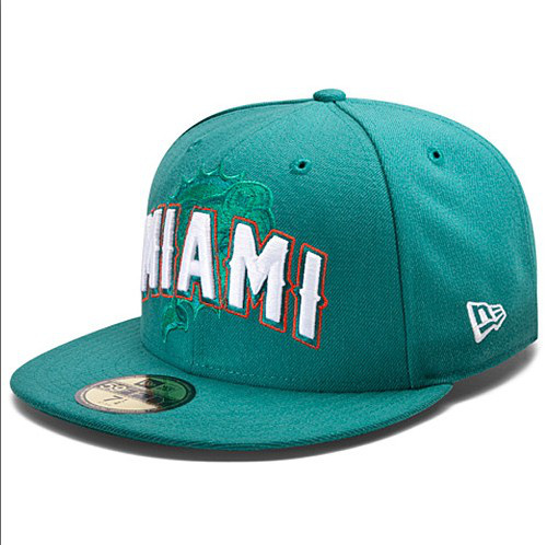 Miami Dolphins NFL DRAFT FITTED Hat SF04