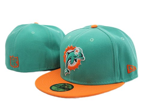 Miami Dolphins NFL Fitted Hat YX08