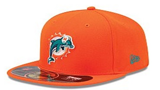 Miami Dolphins NFL On Field 59FIFTY Hat 60D07