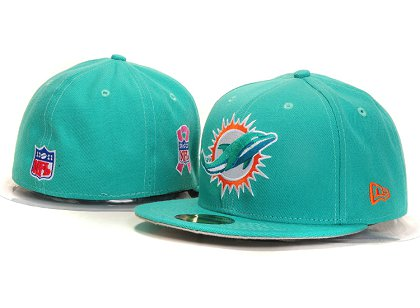 Miami Dolphins New Type Fitted Hat YS 5t17