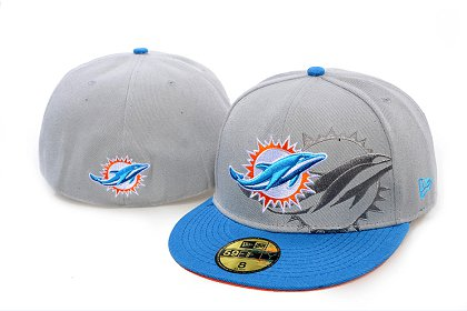 Miami Dolphins Screening 59FIFTY Fitted Hat 60d219