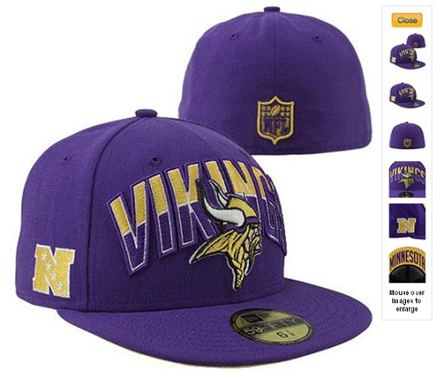 2013 Minnesota Vikings NFL Draft 59FIFTY Fitted Hat 60D31