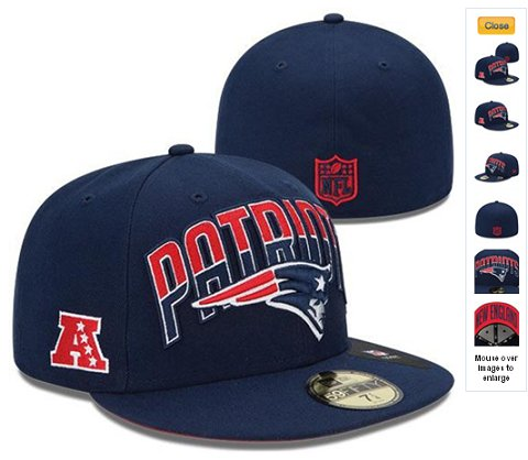 2013 New England Patriots NFL Draft 59FIFTY Fitted Hat 60D11