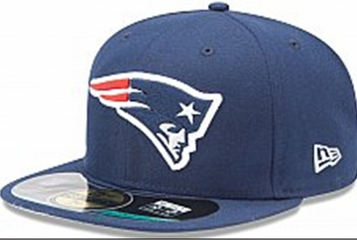 New England Patriots NFL Sideline Fitted Hat SF08