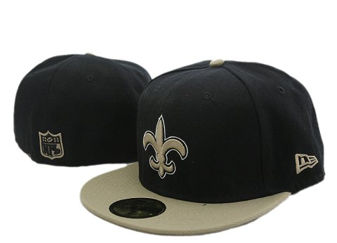 NFL New Orleans Saints Fitted Hat YX10