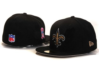 New Orleans Saints New Type Fitted Hat YS 5t05