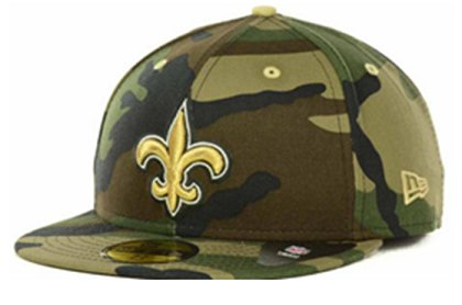New Orleans Saints NFL Fitted Hat 60d