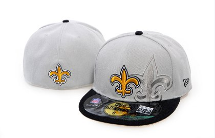 New Orleans Saints Screening 59FIFTY Fitted Hat 60d204
