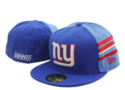 New York Giants NFL Fitted Hat YX11