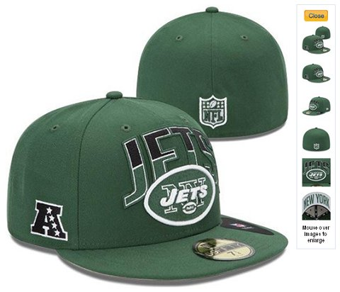 2013 New York Jets NFL Draft 59FIFTY Fitted Hat 60D02