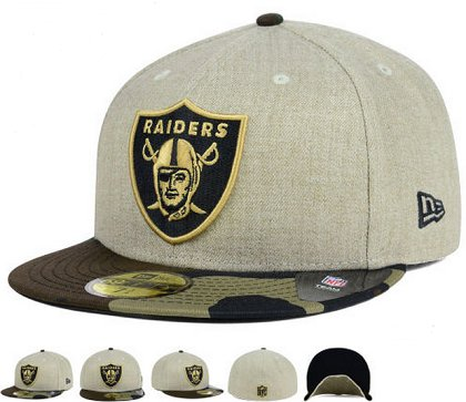 Oakland Raiders Fitted Hat 60D 150229 43