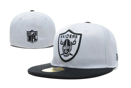 Oakland Raiders Fitted Hat LX 150227 07