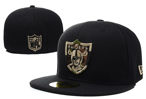 Oakland Raiders 59FIFTY Hat XDF
