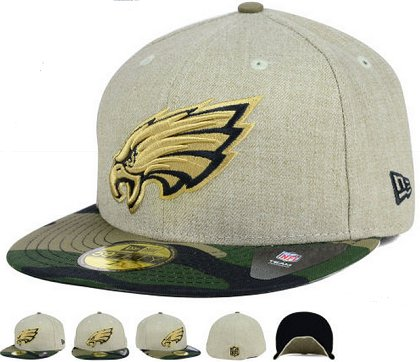 Philadelphia Eagles Fitted Hat 60D 150229 46