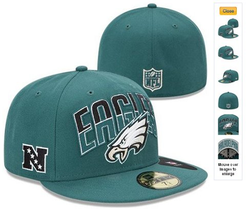 2013 Philadelphia Eagles NFL Draft 59FIFTY Fitted Hat 60D22