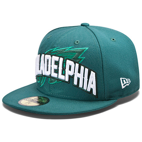 Philadelphia Eagles NFL DRAFT FITTED Hat SF09