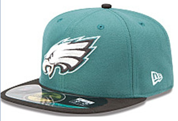 Philadelphia Eagles NFL On Field 59FIFTY Hat 60D10
