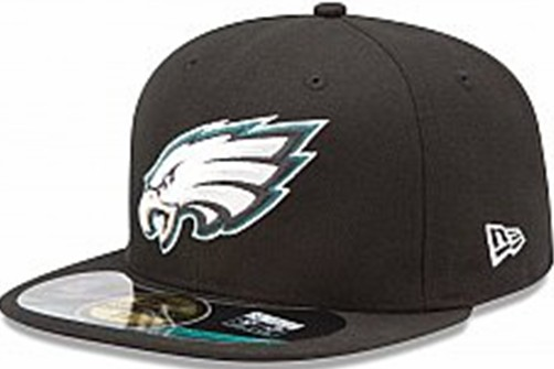 Philadelphia Eagles NFL Sideline Fitted Hat SF06