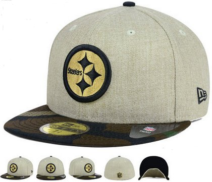 Pittsburgh Steelers Fitted Hat 60D 150229 47