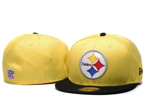 Pittsburgh Steelers NFL Fitted Hat YX04