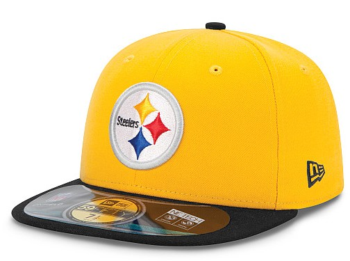 Pittsburgh Steelers NFL On Field 59FIFTY Hat 60D22