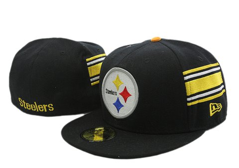 Pittsburgh Steelers NFL Fitted Hat YX05