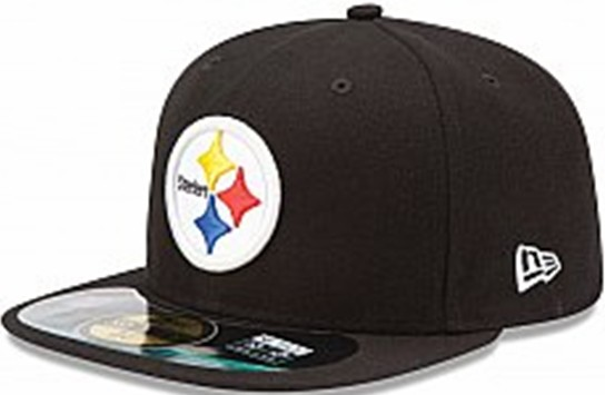 Pittsburgh Steelers NFL Sideline Fitted Hat SF05