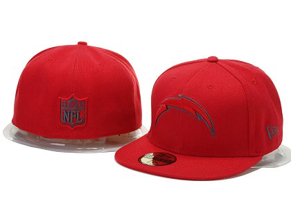 San Diego Chargers Fitted Hat 60D 150229 06