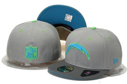 San Diego Chargers Fitted Hat 60D 150229 24