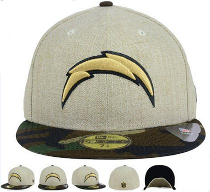 San Diego Chargers Fitted Hat 60D 150229 39