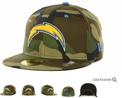 San Diego Chargers 2013 Fitted Hat 60D209