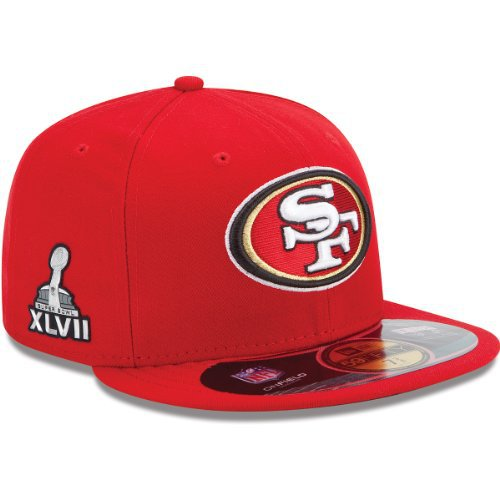 San Francisco 49ers NFL Sideline Fitted Hat SF16