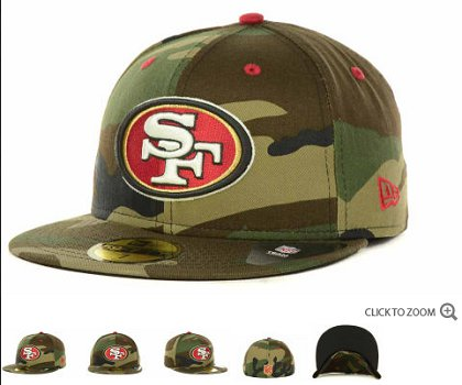 San Francisco 49ers Fitted Hat 60d