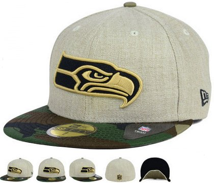 Seattle Seahawks Fitted Hat 60D 150229 42