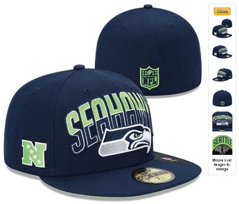 2013 Seattle Seahawks NFL Draft 59FIFTY Fitted Hat 60D25