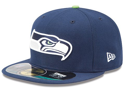 Seattle Seahawks NFL On Field 59FIFTY Hat 60D33