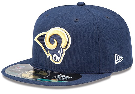 St. Louis Rams NFL On Field 59FIFTY Hat 60D39