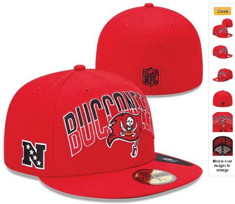 2013 Tampa Bay Buccaneers NFL Draft 59FIFTY Fitted Hat 60D14
