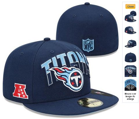 2013 Tennessee Titans NFL Draft 59FIFTY Fitted Hat 60D09