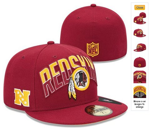 2013 Washington Redskins NFL Draft 59FIFTY Fitted Hat 60D30
