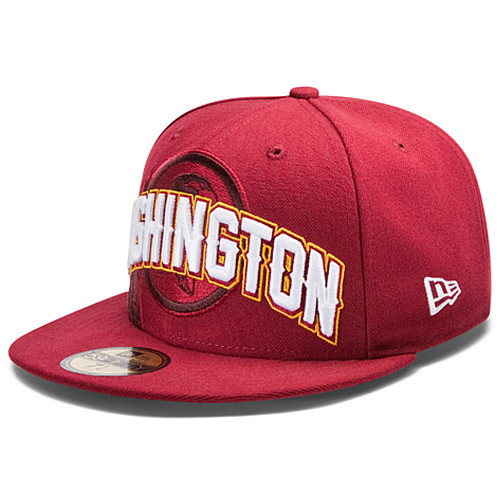 Washington Redskins NFL DRAFT FITTED Hat SF14