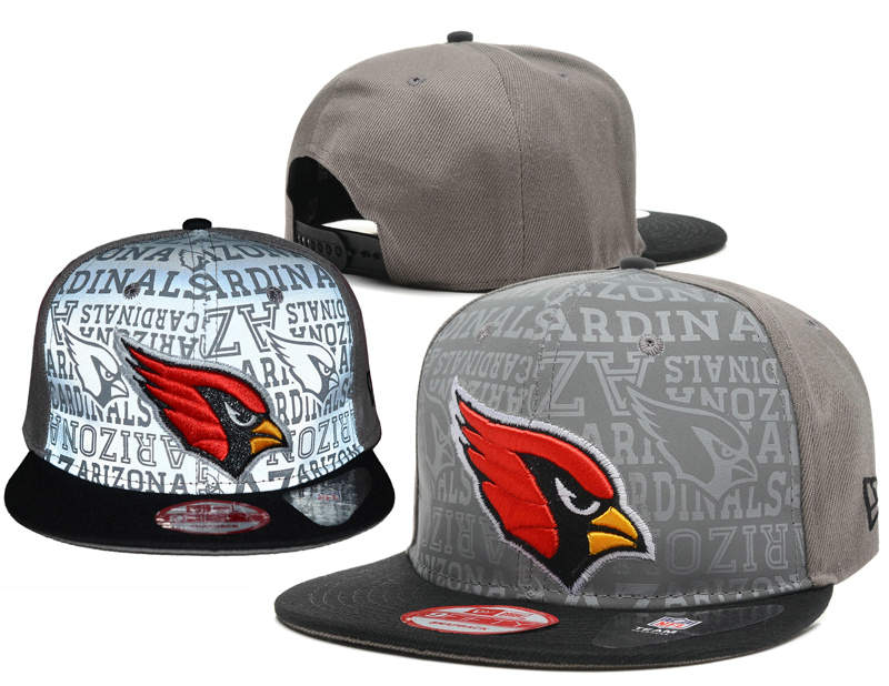 Arizona Cardinals Reflective Snapback Hat SD 0721