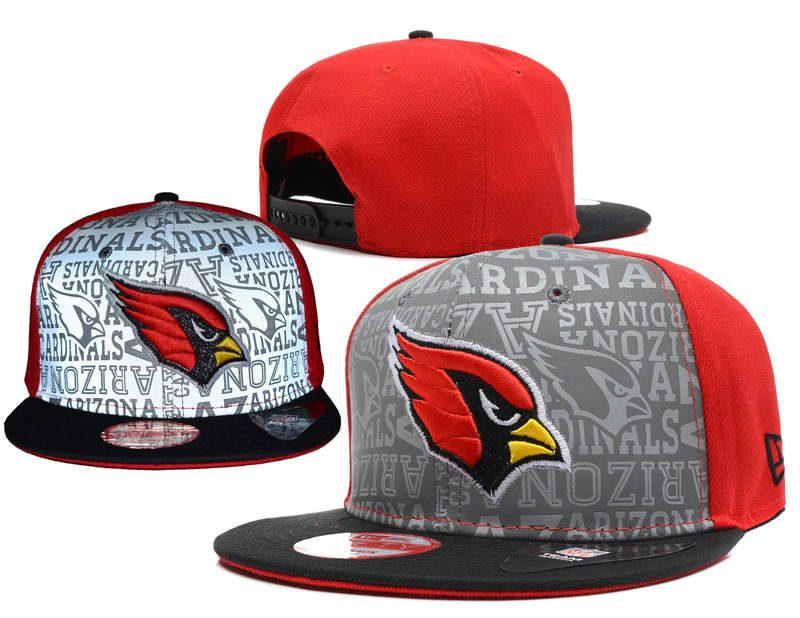 Arizona Cardinals 2014 Draft Reflective Snapback Hat SD 0613