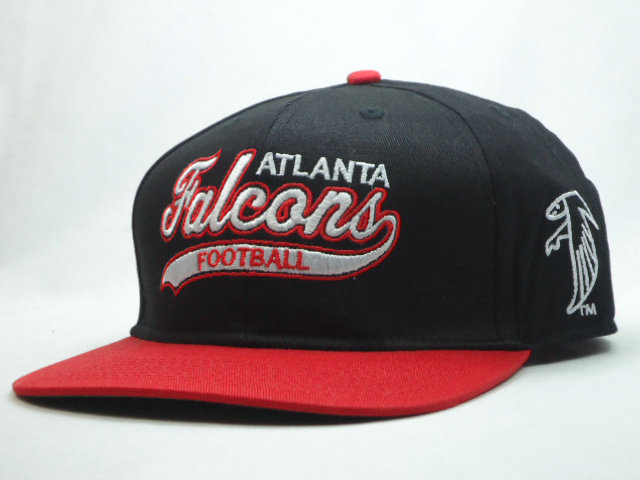 Atlanta Falcons Black Snapback Hat SF
