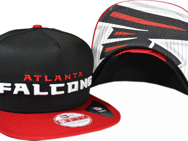 Atlanta Falcons Black Snapback Hat XDF 0721