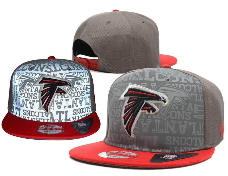 Atlanta Falcons Reflective Snapback Hat SD 0721