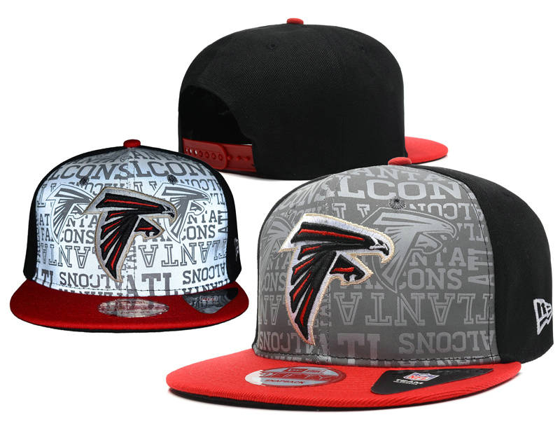 Atlanta Falcons 2014 Draft Reflective Snapback Hat SD 0613