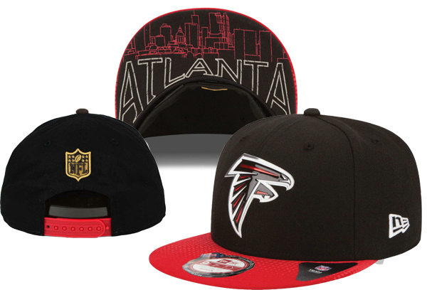 Atlanta Falcons Snapback Black Hat XDF 0620